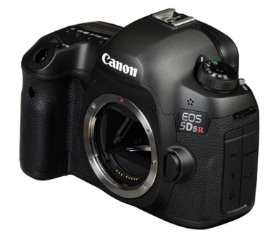 Canon 5DSR full frame camera