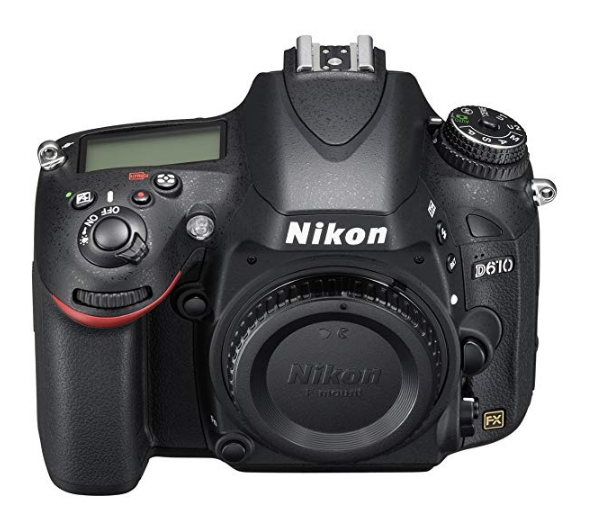 Nikon D610 Full Frame DSLR Camera