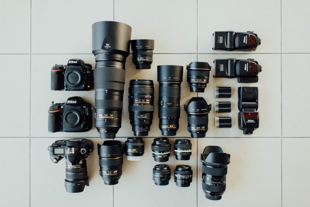 Full Frame Cameras are able to a wide range of older lenses